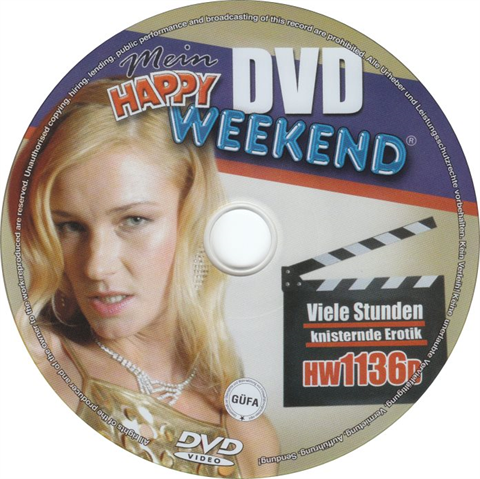 Happy Weekend DVD 1136