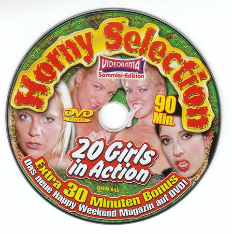 DVD 845 Horny Selection